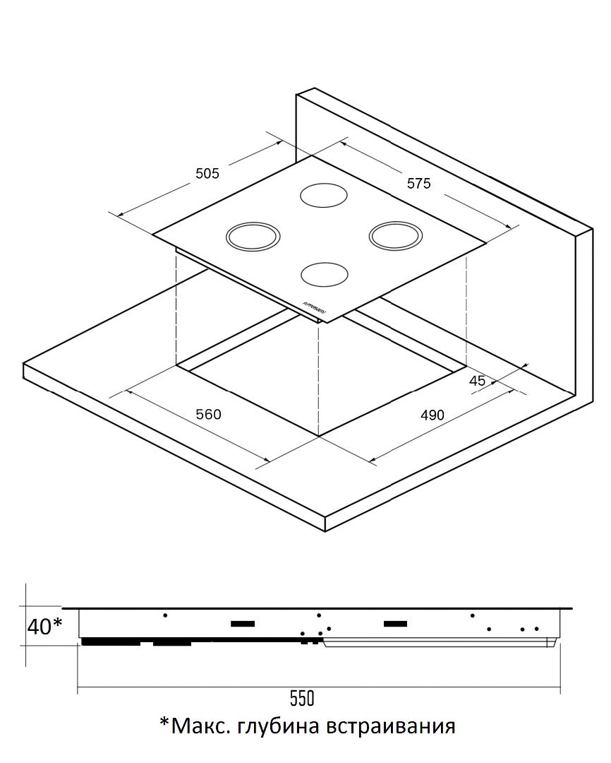 Лампочка Gauss Elementary LED A60 E27 10W 2700K 23210